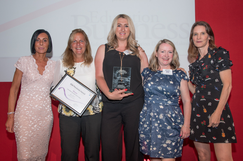 2018 SEN Provision Award Winner: Clare Mount Specialist Sports College