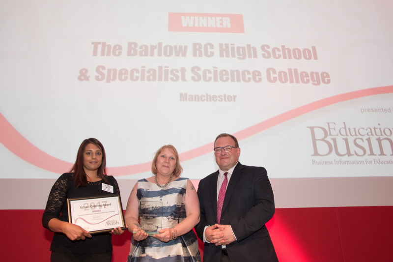 2017 School Catering Award Winner:The Barlow RC High School & Specialist Science College
