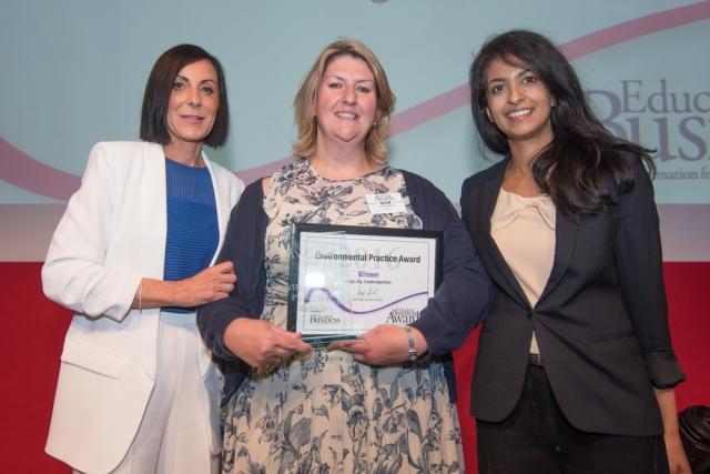 Environmental Practice Award - 20126 winner King's Ely, Cambridgeshire